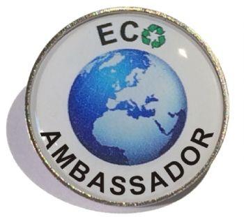 ECO AMBASSADOR round badge